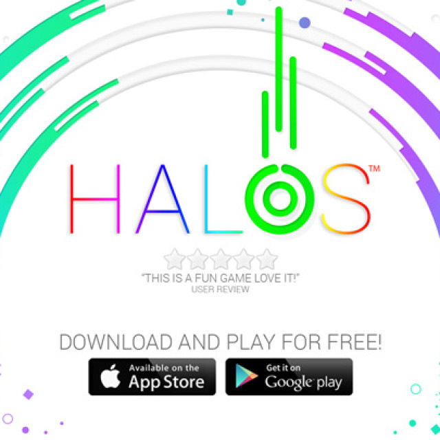 Halos launches on iOS, featured in Best New Games on the iTunes Store!