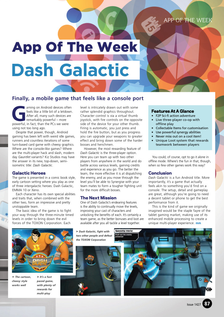 App of the Week Dash Galactic